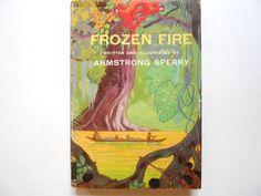 Frozen Fire a Vintage Children's Book by lizandjaybooksnmore
