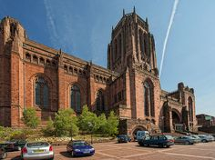 Anglican Cathedral, Liverpool by Dave Wood Liverpool Images, via Flickr