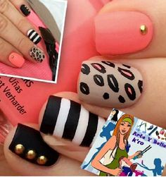 Arte y color en tus uñas manicura 6.000 cambio esmalte 4.000