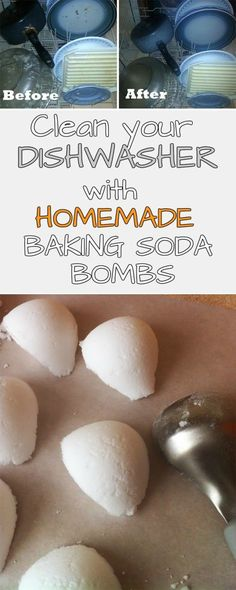 Read and learn how to clean your dishwasher with a baking-soda bomb.