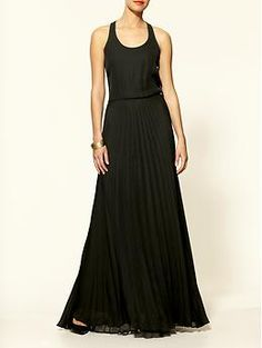 Pleated Cami Maxi Dress by Parker --> Love this dress except, according to the reviews, you have to be model height to wear it! =(