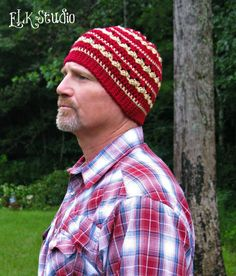 Autumn Dew - A Free Crochet Beanie hat by ELK Studio!  #FREE #CROCHET #HAT