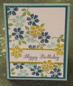Stamps And Tea: Now this card is Bloomin' Marvelous!