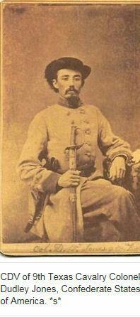 Unidentified Private, 2nd Texas Cavalry Regiment, Confederate ...