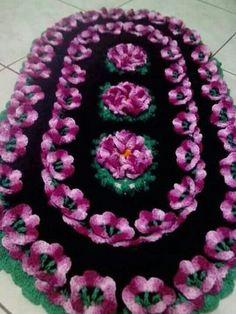 Crochet Table Mat, Crochet Table Runner Pattern, Crochet Mat, Crochet Tablecloth, Filet Crochet, Baby Blanket Crochet, Crochet Doilies, Crochet Flowers, Knitting Projects