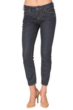 Aiko ankle skinny dark wash jeans Aiko features a comfortable medium rise and slightly curvy fit through the hip and thigh. 27 length. Skinny Aiko Jeans by Silver Jeans Co.. Clothing - Bottoms Canada
