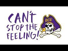 #CantStopTheFeeling of Pirate Pride! - YouTube