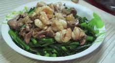 DIY 港式佳肴 (28) 菜芯肉片虾球  http://easydiy365.com/?p=33137