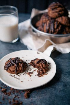 coffee crumble cookies.