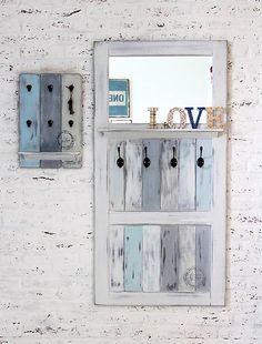 bySue / REZERV�CIA PRE VIERKU ve�iak so zrkadlom a poli�kou FREDERICA
