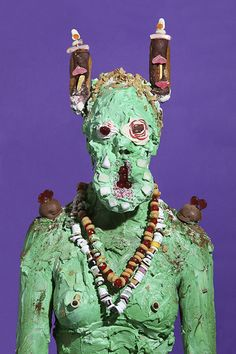 Grotesque Portraits made of Sweets and Junk Food-ByJames Oster . . ..........Sources:(James Oster) (junk-culture.com)