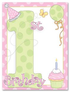 images of vintage baby,s first birthday card | Christmas Cards Christmas Photo Cards Christmas Party Invitations ...