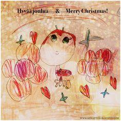 Hyvää joulua & Merry Christmas! - Miniatyyrian joulukalenterista - From the Miniatyyria Christmas calendar