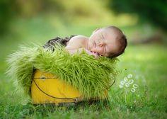 inspiring spring photo ideas || for baby