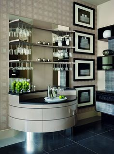 Interior design company unveils its new Kelly Hoppen-designed contemporary kitchen. Best Interior, Kitchen Interior, Classic Interior, Dining Room Design, Kitchen Design, Kelly Hoppen Interiors, Interior Design Companies, Mid Century House, Home And Living