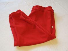 Felco boys Youth L Baseball softball Pull up Pant 1 pair red athletic sports NOS #Felco