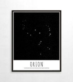 Gwiazdozbiór Orion - Gdzie kupić? www.eplakaty.pl