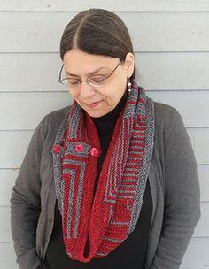 Montague Street Cowl Pattern by Nina Machlin Dayton