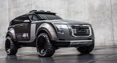 Russian Sergey Kon'kov, a graduate student at the Munich University of Applied Sciences, decided to design the ultimate off-road vehicle for his graduate thesis project and the result is the Qoros Best Compact Suv, Best Suv, Car Headlights, Luxury Suv, Off Road, Transportation Design, Concept Cars, Cars And Motorcycles, Cool Cars