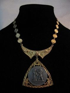 Egyptian Revival necklace.