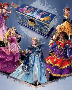 Disney Designer Collection: Midnight Masquerade Series- see, THIS is how Disney shoulda done their new dresses! Disney Pixar, Disney Magic, Disney And Dreamworks, Disney Kunst, Arte Disney, Disney Fan Art, Disney Love, Disney Princess Fashion, Disney Princess Dolls