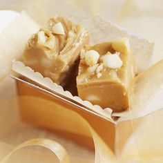 Honey and Macadamia Nut Fudge