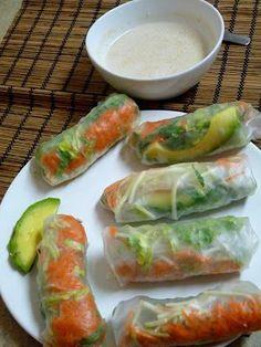 Thai Veggie Spring Rolls.