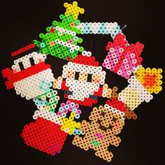 Christmas ornaments perler beads by Asami N. - Perler® | Gallery