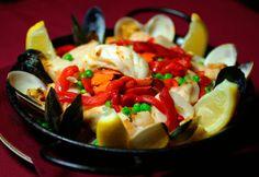 Ceviche Tapas Bar & Restaurant - Paella Valenciana.... mmmmm good!