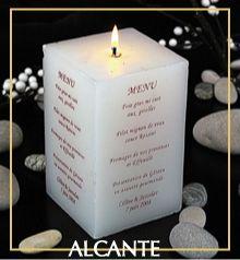 Bougie menu