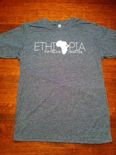 Ethiopia Adoption Tshirt T-shirt - Five Million Minus One. $19.00, via Etsy.