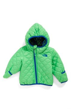 The North Face 'Perrito' Reversible Water Repellent Hooded Jacket (Baby Boys) available at #Nordstrom