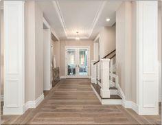 Hardwood Flooring is DuChateau Vernal Como. Hardwood Flooring is DuChateau Vernal Como. Hardwood Flooring is DuChateau Vernal Como The ADDRESS Company Die Hamptons, Hamptons Style Homes, Hamptons Decor, Floor Colors, House Colors, Exterior Paint Sherwin Williams, Exterior Wall Tiles, Light Hardwood Floors, Up House