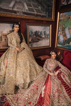 New Bridal Pakistani Dresses Red Wedding Bride Ideas