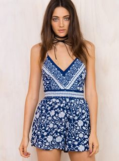 Revelry Playsuit - Dresses