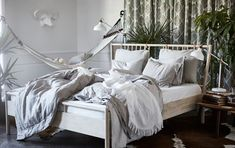 Home Decorating Style 2016 for 76 Beautiful Collection Of Ikea Kids Bed Frames, you can see 76 Beautiful Collection Of Ikea Kids Bed Frames and more pictures for Home Interior Designing 2016 202812 at Bedroom Ideas. Ikea Bedroom, Cozy Bedroom, Home Decor Bedroom, Master Bedroom, Bedroom Ideas, Design Bedroom, Ikea Pinterest, Home Design, Ikea Inspiration