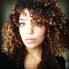 2015 naturally curly long biracial - Google Search