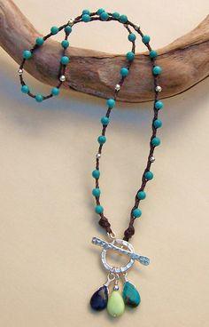 Linen Necklace | by Erin Siegel Jewelry