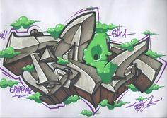 "225 Suka, 3 Komentar - TİPEX (@graffitipex) di Instagram: ""Pıçı pıçı pom :D @sucagram #tipex #graffitipex #tipexgraffiti #graffiti #sanat #çizim #canvas…"""