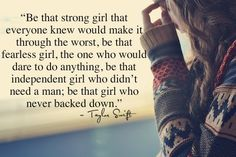 Be THAT girl!!