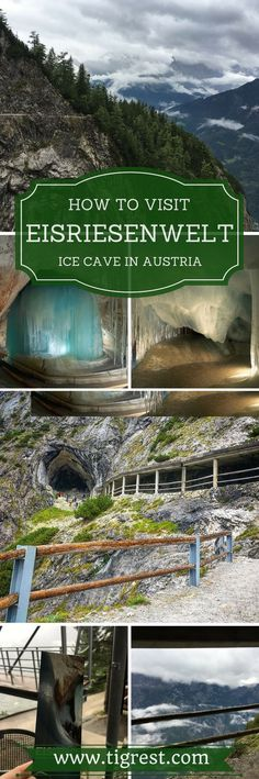 Eisriesenwelt ice cave in austria is a must see for anyone staying around Salzburg. It is a stunning cave covered with ice