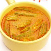 Bhindi ka Salan Recipe - Chef Marut Sikka takes us to the farmlands of eastern Uttar Pradesh, as he shares with us the recipe of  'Bhindi Ka Salan'. Crisp fried bhindi in a zingy gravy.