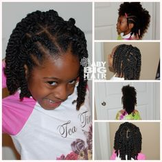 african american little girl hair styles