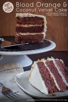 Sour Cream Blood Orange Bundt Cake with Cocoa Filling | Recipe ...