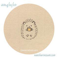 327    Let's take a rest.  #hedgehog #illustration #drawing  #illustagram