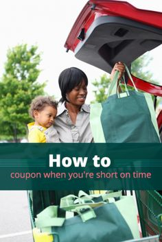 5 Tips for People Who Don't Have Time to Coupon
