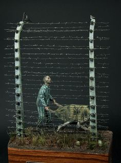 Arbeit macht frei - for remember 1/35 Scale Model Diorama