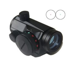 New High Strengh Aluminum Material Tactical Holographic Red Green Dot Sight Scope With 20mm Picatinny Weaver Rail Mount.