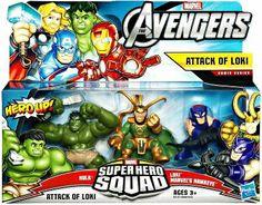 Amazon.com: Avengers Attack Of Loki: Toys & Games