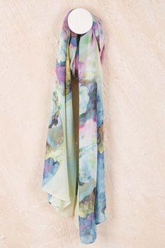 Micro Heaven scarf